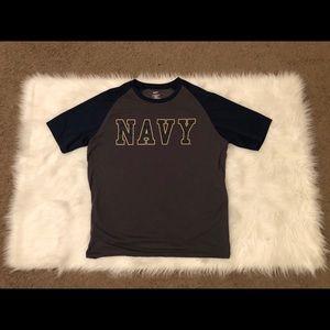 Navy T-Shirt Men's XL